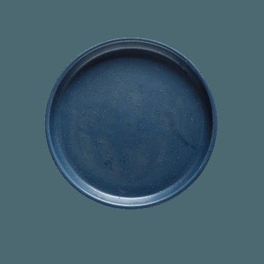 Prato sobremesa aba reta marinho - ATELIER COUVERT