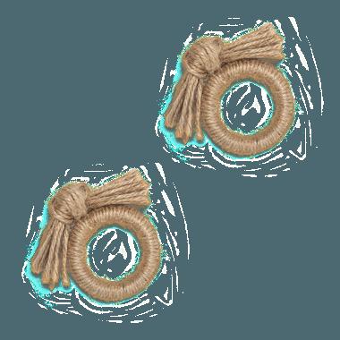Porta guardanapo sisal - ATELIER COUVERT