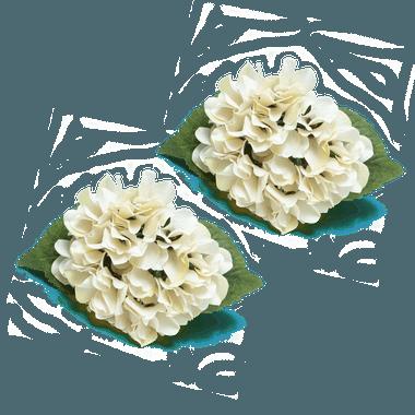 Porta guardanapo Hortênsia Branca - ATELIER COUVERT