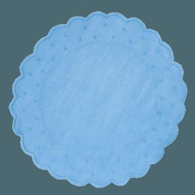 Jogo Americano Poás Azul Claro - ATELIER COUVERT