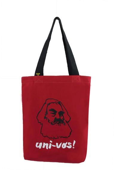 Bolsa Karl Marx Vermelha