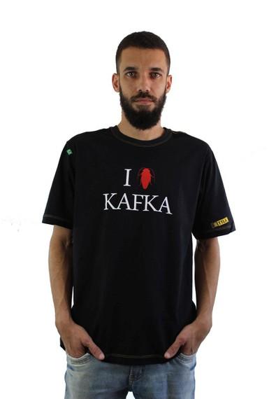 Camiseta Kafka Preta