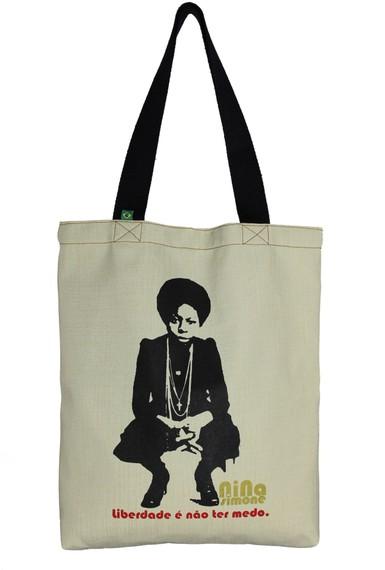 Bolsa Nina Simone Liberdade Cru