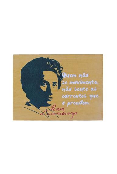 Quadrinho Rosa Luxemburgo