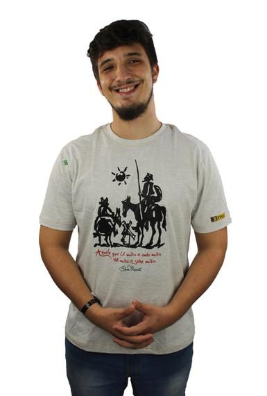 Camiseta Dom Quixote Sabedoria Gelo