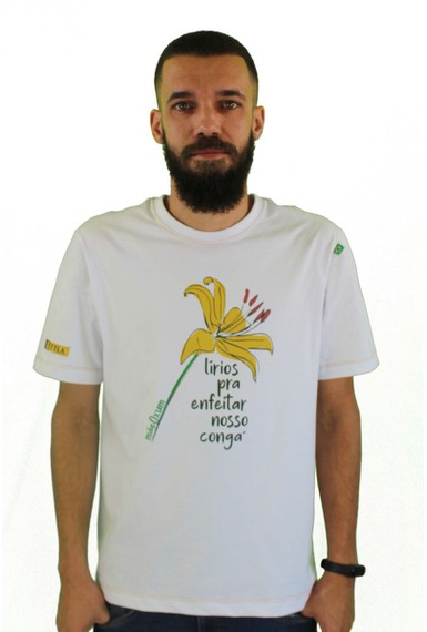 Camiseta Oxum Branca