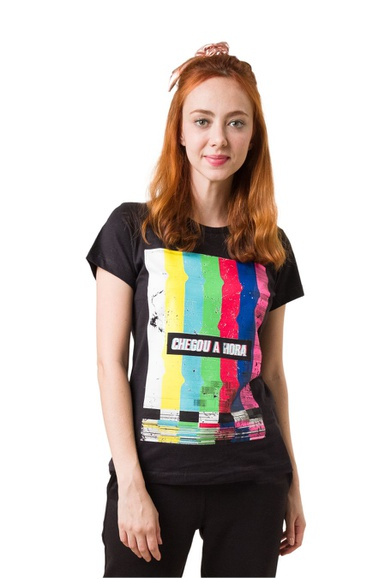 Camiseta Baby Look Offline - IPROMOVE
