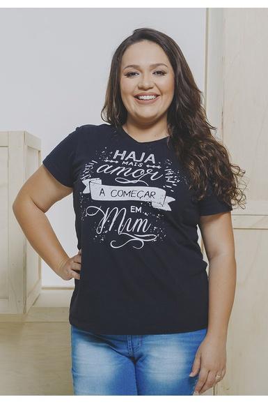 Camiseta Baby Look A Começar em Mim - IPROMOVE