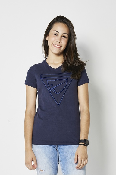 Camiseta Baby Look Bordada DBV Feminina - IPROMOVE