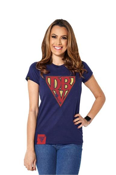 Camiseta Baby Look Super DBV - IPROMOVE