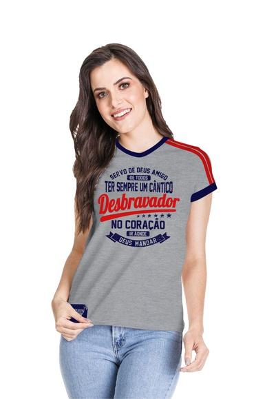 Camiseta Baby Look Desbravador - IPROMOVE