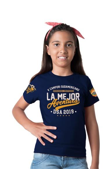 Camiseta Infantil V Campori DSA Espanhol - IPROMOVE