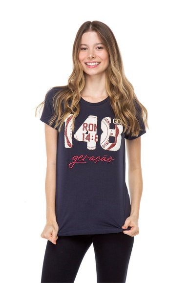 Camiseta Baby Look Geração 148 2021 - IPROMOVE