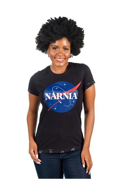 Camiseta Baby Look Nárnia