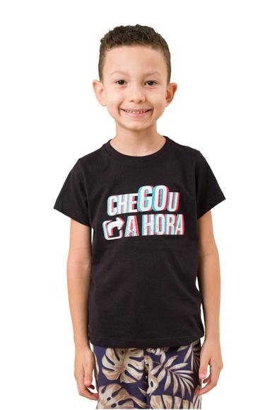 Camiseta Infantil Oficial Tema JA 2021 Chegou a Ho... - IPROMOVE
