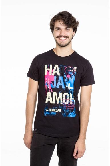 Camiseta Long Haja Mais Amor