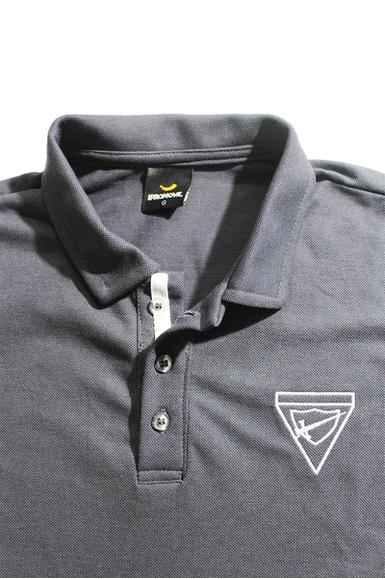Polo Masculina Desbravador Cinza Escuro - IPROMOVE