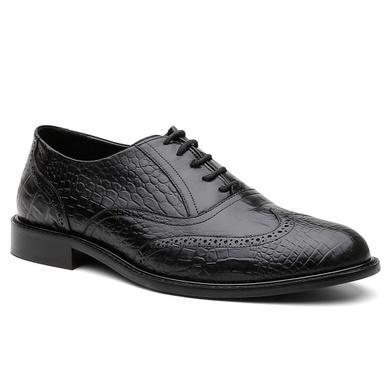 Sapato Social Brogue Austrália Preto - Bernatoni