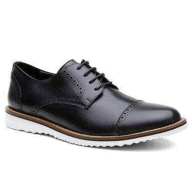 Sapato Brogue Bernatoni Albânia Preto - Bernatoni
