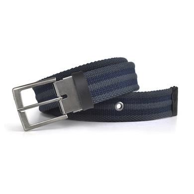Cinto Laroche Masculino Sport Luxo - Cinza/Azul - 02001-2738 - Calçados Laroche