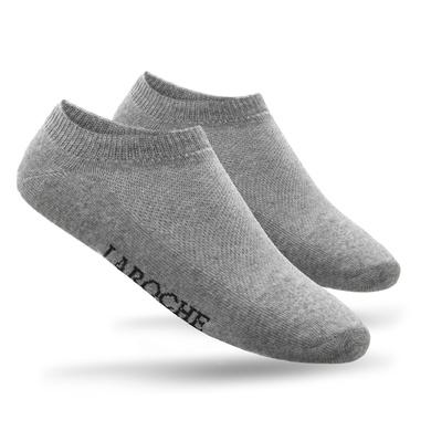 Meia Masculina Sport - Cinza - 02151-2701 - Calçados Laroche