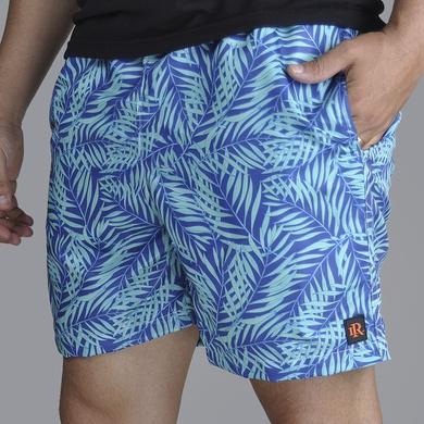 Short Praia - Azul/Verde Agua - 02157-2967 - Calçados Laroche