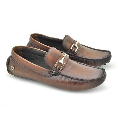 Drive em Couro Aruba Masculino - Brown - 03808-1894 - Calçados Laroche