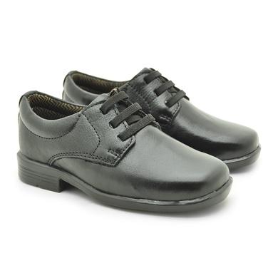 Sapato Social Fortaleza Babie Couro - Preto - 02687-1625 - Calçados Laroche
