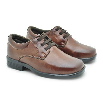 Sapato Social Fortaleza babie Couro - Brown - 02687-1894 - Calçados Laroche