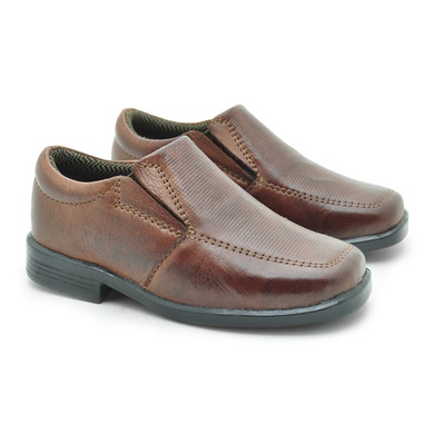 Sapato Social Fortaleza Babie Couro - Brown - 02689-1894 - Calçados Laroche