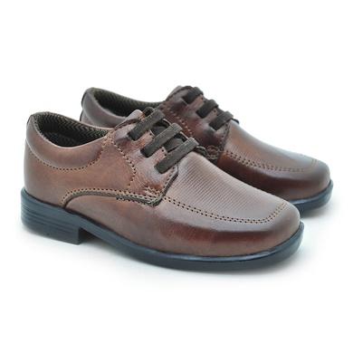 Sapato Social Fortaleza babie Couro - Brown - 02686-1894 - Calçados Laroche
