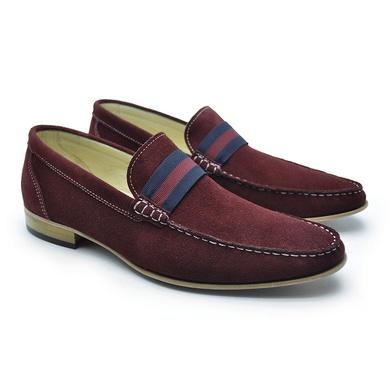 Sapato Italiano Firenze em Couro Vinho Laroche - 01103-0013 - Calçados Laroche
