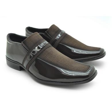 Sapato Las Vegas Masculino Social - Café - 08906-2806 - Calçados Laroche