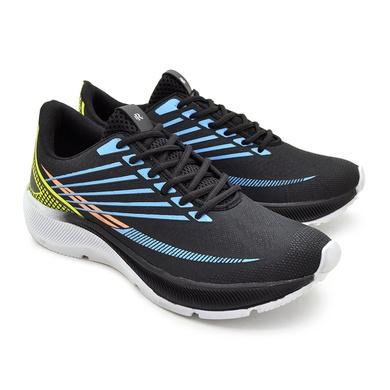 Tênis Laser Masculino - Nylon - Preto/Azul - 04410-3091 - Calçados Laroche