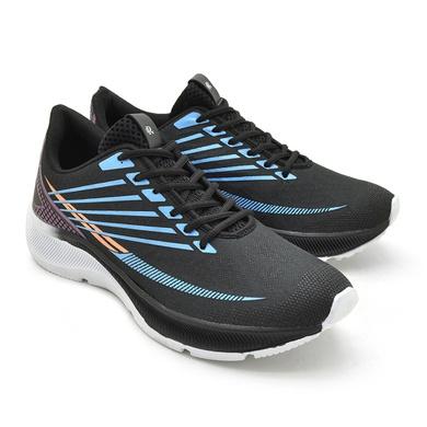 Tênis Laser - Nylon - Preto/Azul/Rosa - 04410-3093 - Calçados Laroche