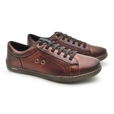 Sapatenis Boxter Masculino em couro Marrom - 06702-1923 - Calçados Laroche