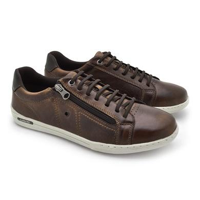 Sapatenis Boxter Masculino - Brown - 06712-2632 - Calçados Laroche