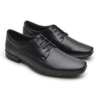 Sapato Social Fortaleza Couro - Preto - 02603-2571 - Calçados Laroche