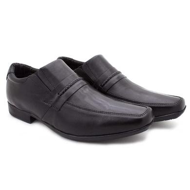 Sapato Masculino Social Fortaleza Couro Preto - 02607-1625 - Calçados Laroche