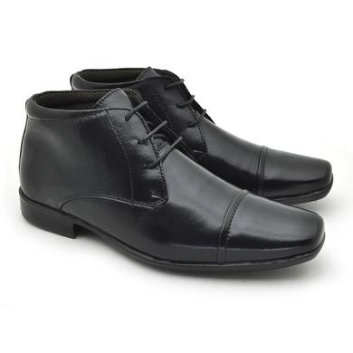 Sapato Social Masculino Fortaleza Couro Preto - 02610-2571 - Calçados Laroche