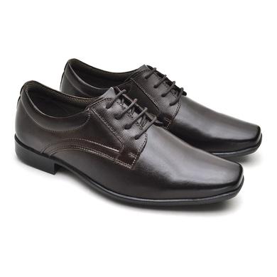 Sapato Social Fortaleza Couro - Café - 02616-2572 - Calçados Laroche