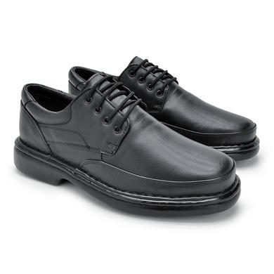 Sapato Laroche Lisboa em Couro de Carneiro - Preto - 08701-1104 - Calçados Laroche