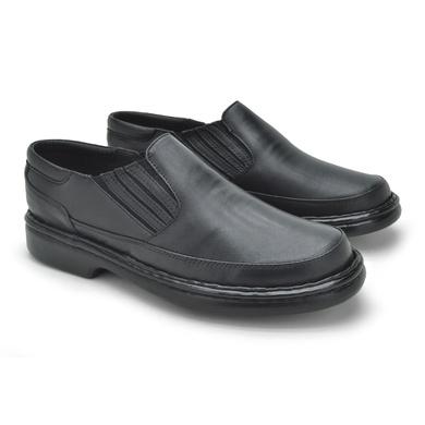 Sapato Laroche Lisboa em Couro de Carneiro - Preto - 08703-1104 - Calçados Laroche