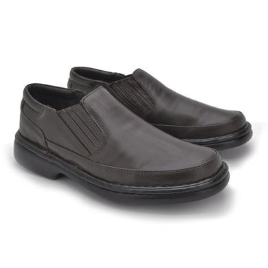 Sapato Laroche Lisboa em Couro de Carneiro - Café - 08703-1106 - Calçados Laroche