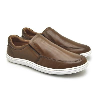 Sapato Laroche Lisboa em Couro de Carneiro - Havana - 08706-3058 - Calçados Laroche