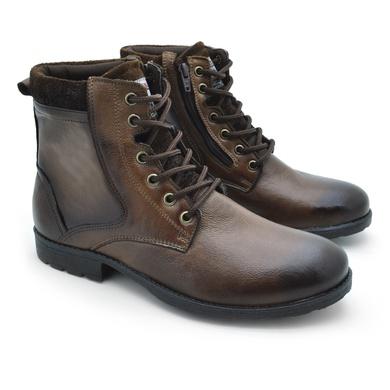 Bota Saara Masculina - Chocolate - 02807-1638 - Calçados Laroche