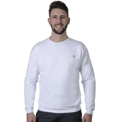 Moletom Básico Laroche - Branco - 02158-2796 - Calçados Laroche