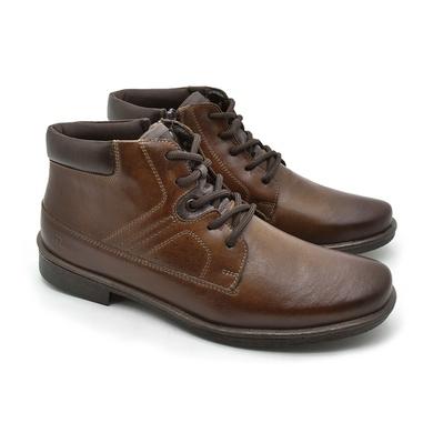 Bota Montana Masculina em Couro - Whisky - 04708-2958 - Calçados Laroche