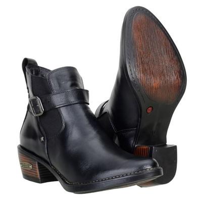 Bota Country Feminina Classic Cano Curto Couro Leg... - JMCOUNTRY