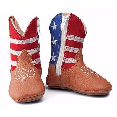 Bota Texana Baby Couro Legítimo USA - 050 - JMCOUNTRY